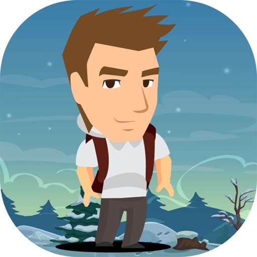 Damn Man Jump Adventure - Jumper Dash Running Classic Platform Game iOS App