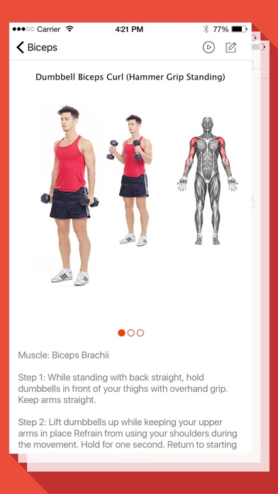 Screenshot #7 for Fitness and Bodybuilding by VGFIT