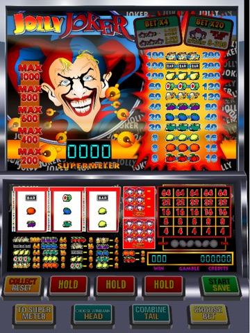 Jolly joker slot machine game