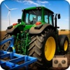 VR Simulate Modern Farming Tractor 3D - village harvesting sim 2016 icon