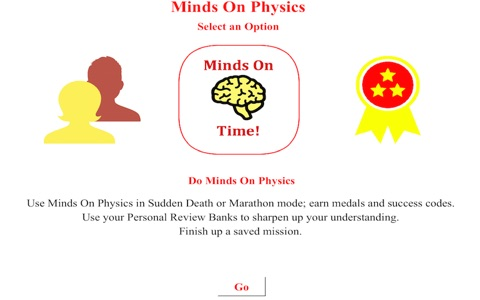 Minds On Physics the App - Part 1 screenshot 1