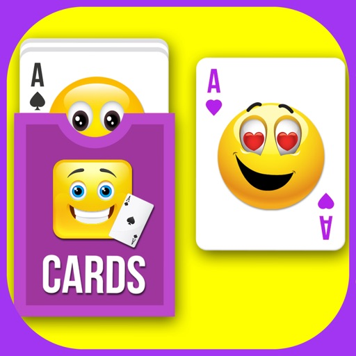 A Awesome Emoji Solitaire iOS App