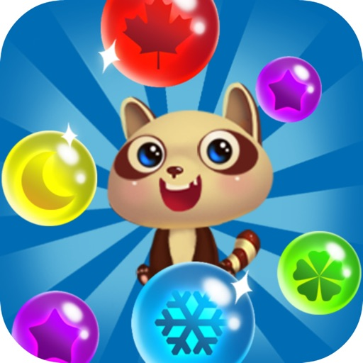 Bubble Shooter Deluxe - Land Pet Pop 2016 Free Edition iOS App