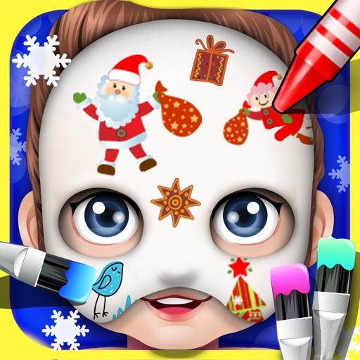 Baby Face Art Paint - kids games iOS App