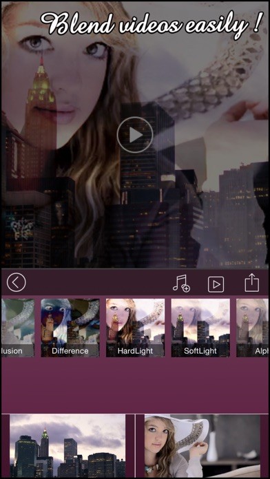 download VideoBlend : Blend or overlay videos to make beautiful video effects apps 0