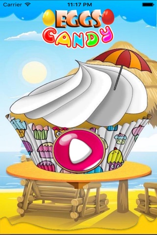 Sweet Eggs Candy Mania-The best match three puzzle game for kids and adults screenshot 1