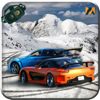VR Real Snowy mountain Drifting game Pro