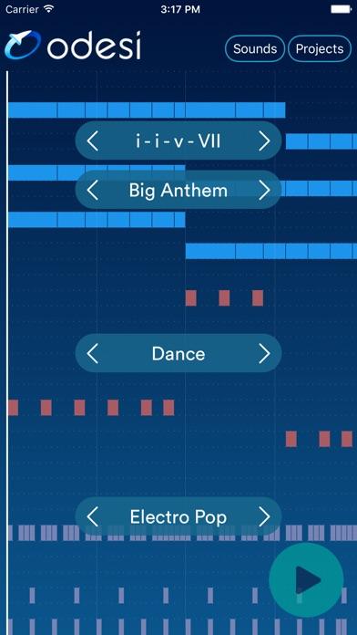 Odesi Chords - Create Rhythms, Basslines, Chord Progressions