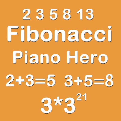 Piano Hero Fibonacci 3X3 - Sliding Number Block And Playing With Piano Music iOS App