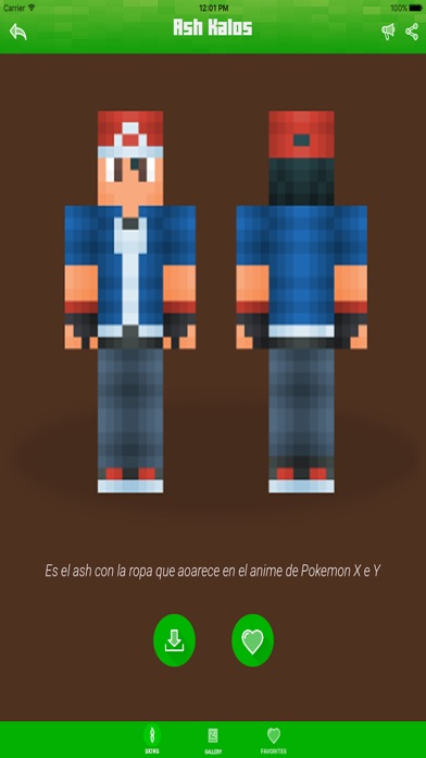 Pokemon Edition Skins For Minecraft PE Pocket Edition Best - Skins para minecraft pe de bebe