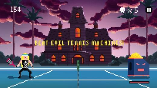Heavy Metal Tennis Training Screenshot