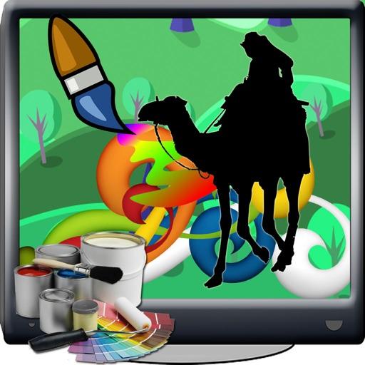 Color For Kids Games Joe Camel Edition iOS App