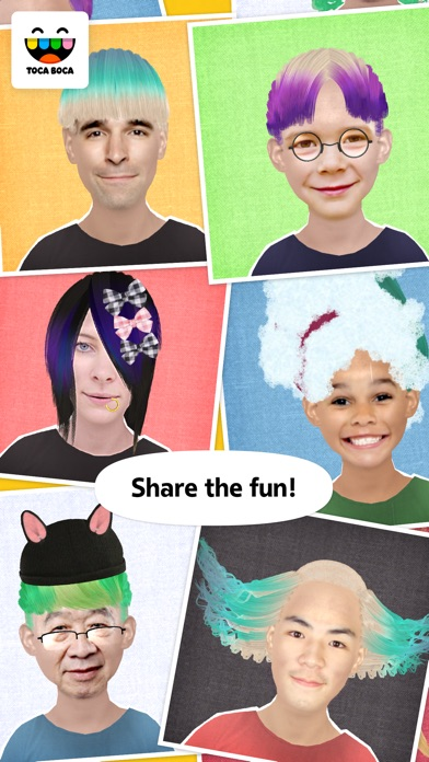 Toca Hair Salon Me app