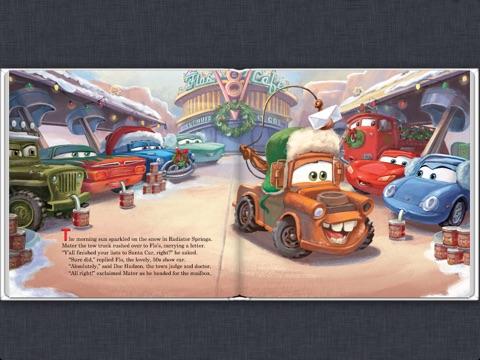 Disney*Pixar Cars: Mater Saves Christmas Read-Along Storybook by ...