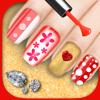 Juego de salón de uñas – Spa de belleza para niñas a tener diseños de manicura originales diferentes