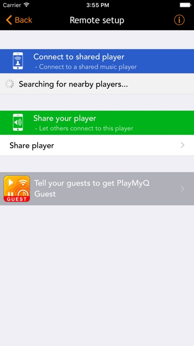 PlayMyQ HD Screenshots