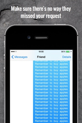 RepeaterBoard - Repeat any message over 1000x Keyboard screenshot 2