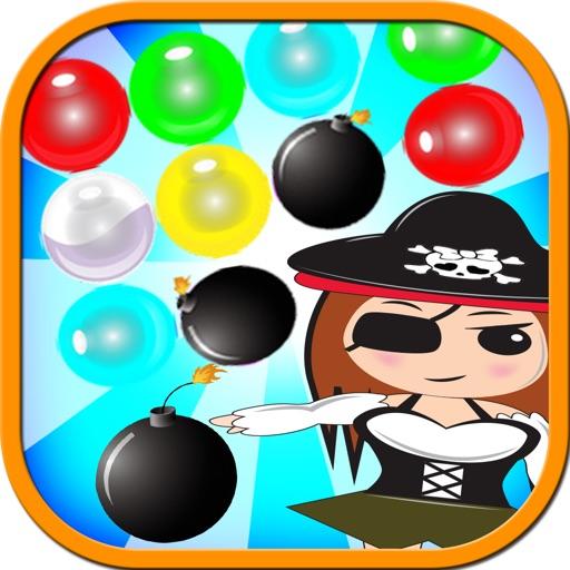 Pirates Girl Game Bubble Shooter Free iOS App
