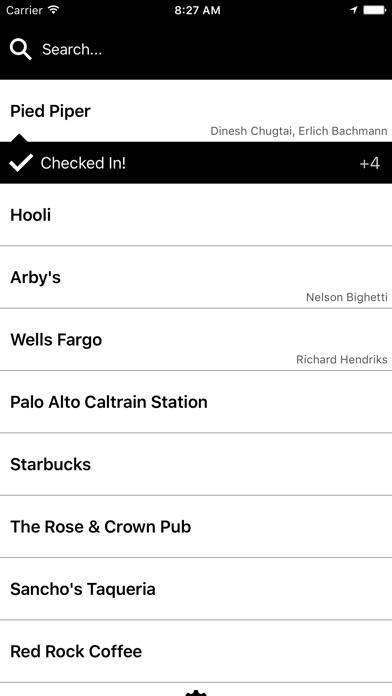 Checkie for Foursquare Screenshot