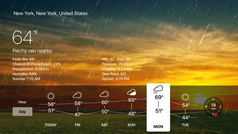 Screenshot #12 for Weather Live - Weather Forecast, Radar and Alerts