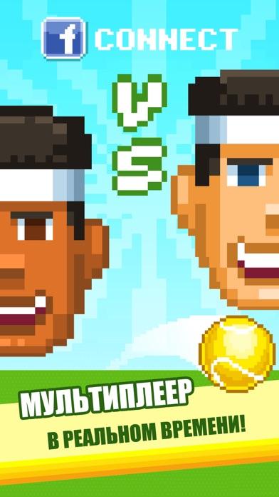 One Tap Tennis Screenshot