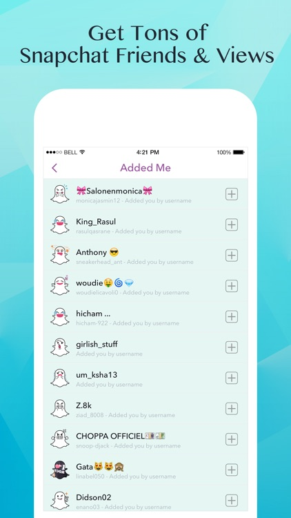 apps to get more views on snapchat