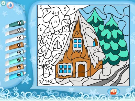 Раскрась по номерам – Рождество для iPad