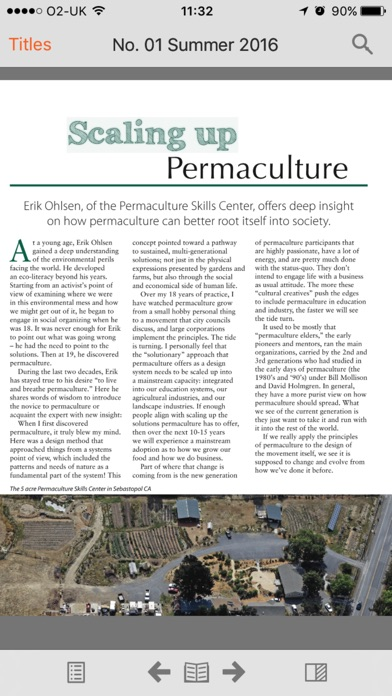 Permaculture North America review screenshots