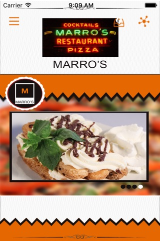 Marro's Restaurant screenshot 1