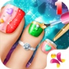 Princess Pedicure Nail Salon 1-Princess Nails/Girls Makeup And Dress Up princess