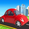Turbo Car Racing : Cartoon Drive Free Game racing smashy