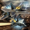 A Driving Fast Of F 22 - Amazing Air War Game