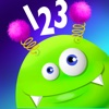123 Monster Happy - Learn to Count Easy Numbers - Toddler Fun Math Games