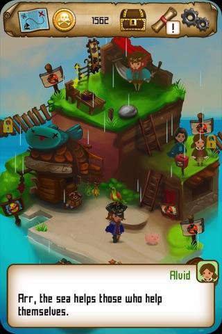 Rule with an Iron Fish: A Pirate Fishing RPG screenshot 1
