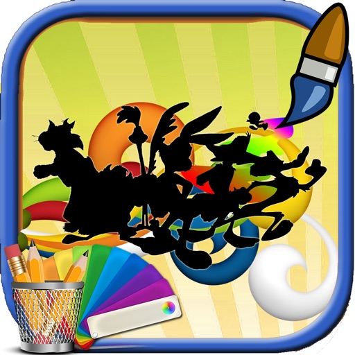 Color For Kids Games Looney Tunes Edition iOS App