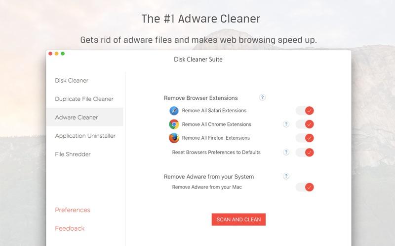 Screenshot #4 for Disk Cleaner Suite - 5 Optimization Apps