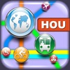 Houston Maps - Download Metro Maps and Tourist Guides. app for iPhone/iPad