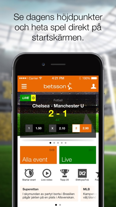 Ladda ner Mr Greens app för iPhone och Android gratis