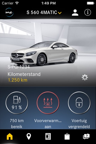 Mercedes me screenshot 1