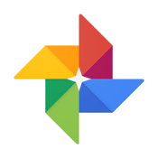 Google Photos - free photo and video storage icon