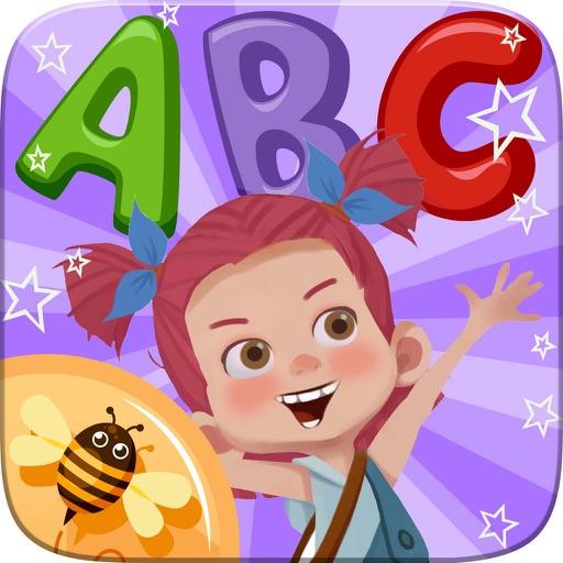 ABC Alphabet Phonics Coloring Book