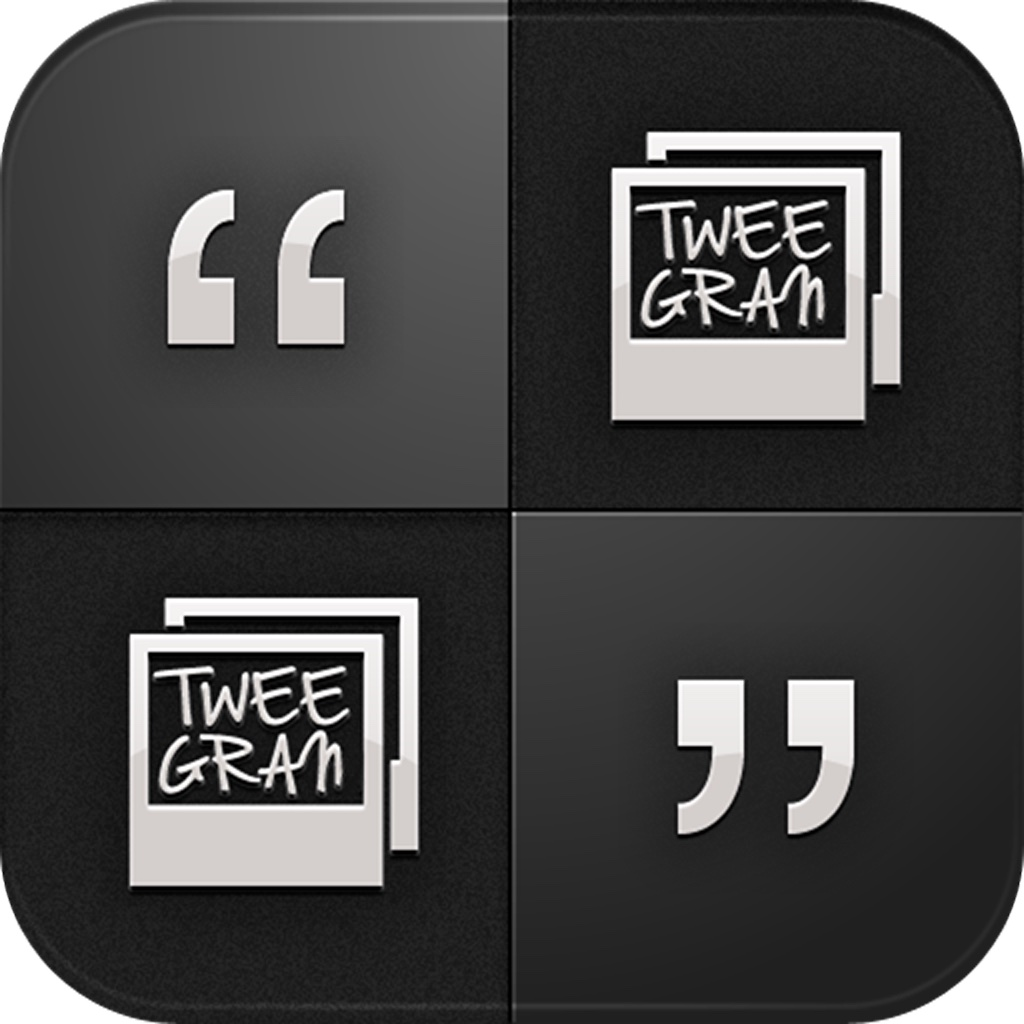 Tweegran - Text message and quotes to pictures