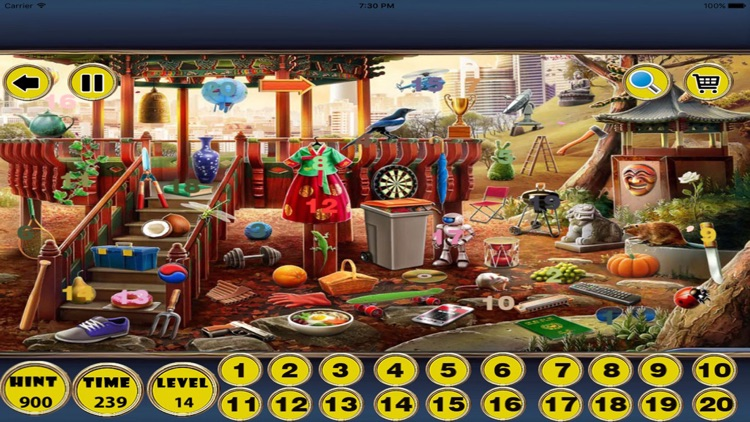 Living Room Hidden Number Search Find Hidden Object Games By