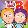 Baby School (Chinese+English) - Voice Flash Cards