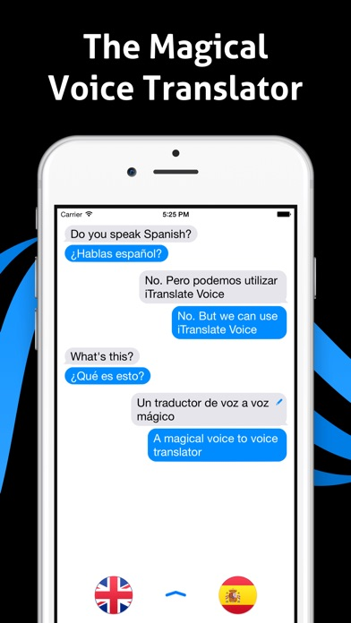 iTranslate Voice - Speak & Translate in Real Time Screenshot