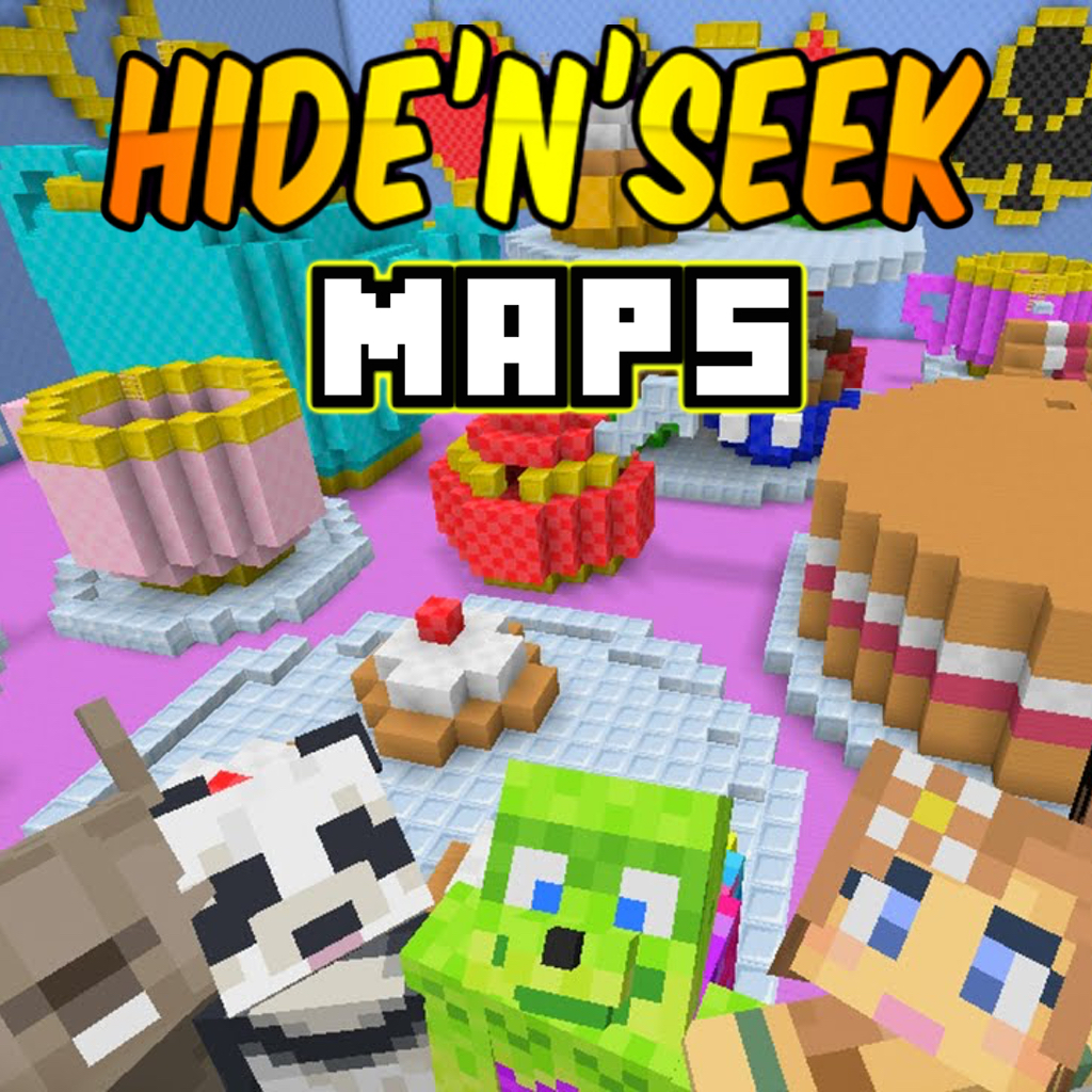 App Insights Hide And Seek Maps For Minecraft PE The Best Maps - Die besten maps fur minecraft pe