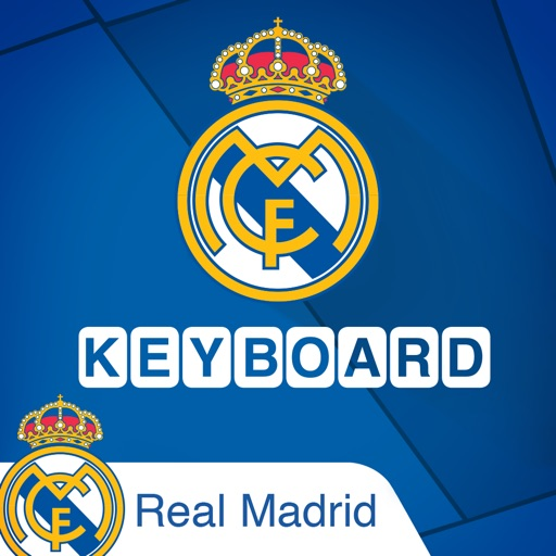 real madrid official keyboard by kibo mobile tech ltd