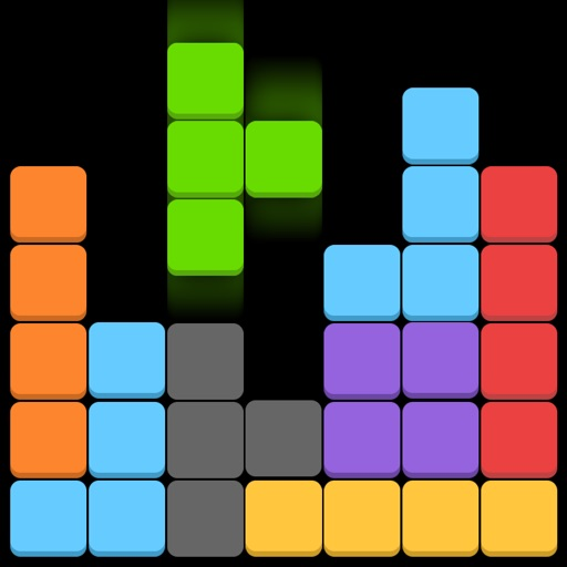 Block Puzzle King - Drop 7 Squares Matching 3 Colors Daily Logic Puzzles Magra Game (Dots & Traces) iOS App