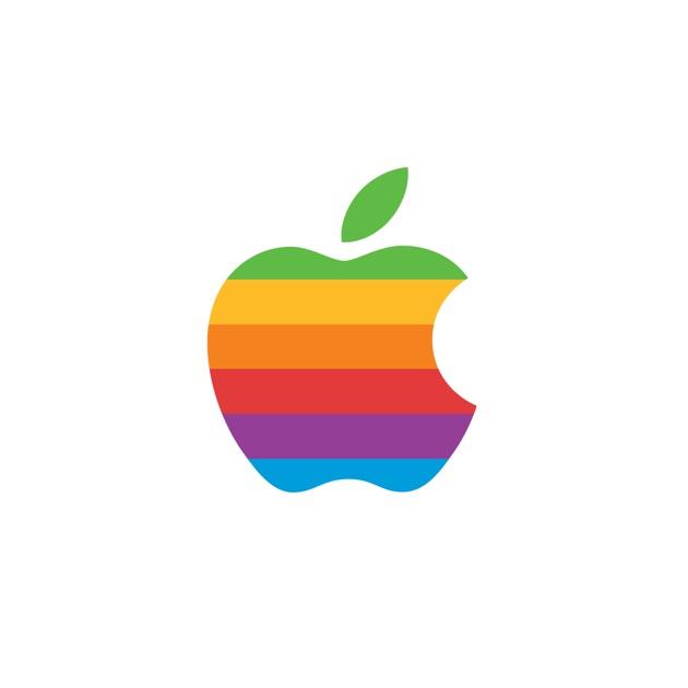 colorful apple logos. Colorful Apple Logos