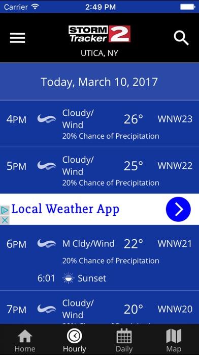 WKTV - StormTracker 2 WeatherScreenshot of 2
